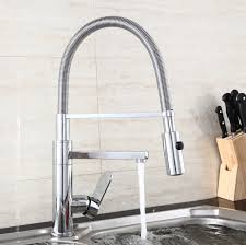 kitchen taps and sinks 2015 pull out kitchen mixer led color kitchen sink tap modern
