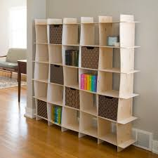 amazon com wave wood modern bookcase folding bookcase american