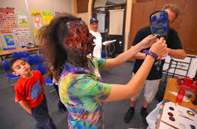 special effects makeup school los angeles photos special effects makeup artist brian stock gives