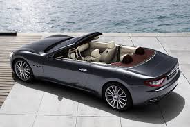 maserati convertible 2 seater maserati drops the top on the new grancabrio