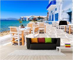 compare prices on cafe wall murals online shopping buy low price custom photo mural 3d wallpaper picture seaside building cafe room decor painting 3d wall mural wallpaper