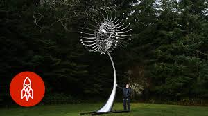 Kinetic Garden Art These Kinetic Sculptures Hypnotize You Youtube