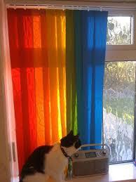 Individual Vertical Blinds Make Rainbow Blinds Using Different Coloured Vertical Blind Slats