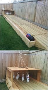 build a backyard bowling alley fun things bowling and backyard