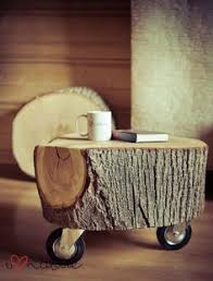 tree trunk recycled in coffee table wood table floor ls and