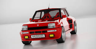 renault 5 turbo group b renault 5 turbo maxi c4d renault 5 classic icon luxxlabs com