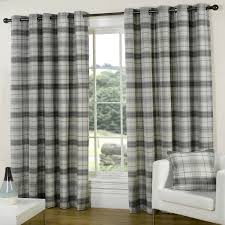 Slate Grey Curtains Terrific Tartan Curtains Provides Prestigious Look
