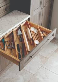 kitchen storage tip store your utensils diagonally instead of