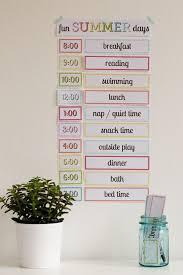 25 kids schedule ideas daily schedule kids