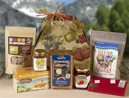 food gift sets best taste of colorado organic gift basket in organic gift baskets