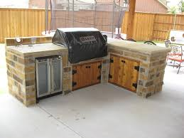 Cheap Outdoor Kitchen Ideas Outdoor Kitchen Cabinet Doors 2017 Also Alluring Picture Awesome