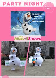 olaf costume for halloween disney frozen olaf snowman mascot costume for
