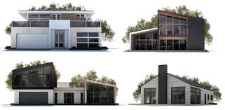 modern houseplans house plans house designs
