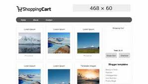 download template toko online simple 10 ecommerce shopping blogger templates free download