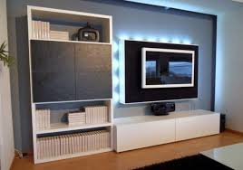 Simple Home Theater Design Concepts 20 Ideas On How To Integrate A Tv In The Living Room Freshome Com