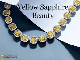 yellow sapphire necklace images Buy yellow sapphire gemstone pukhraj online in india jpg