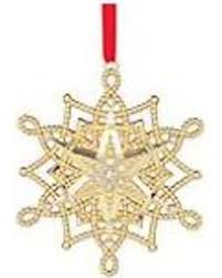 cyber monday is here get this deal on golden snowflake ornament
