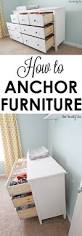 how to anchor furniture
