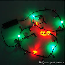flashing christmas light bulbs 2018 led christmas light holiday flashing light bulbs necklace