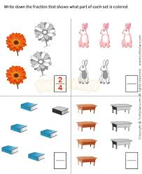 20 best fractions worksheets images on pinterest fractions