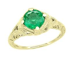 emerald rings antique emerald rings vintage emerald ring