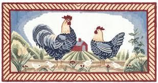 Brumlow Mills by Safavieh Durarug Blue Rooster Area Rug U0026 Reviews Wayfair