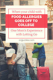 when your child with food allergies goes off to college one