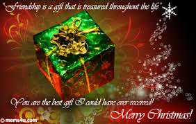 christmas best gift for friend christmas card for friend