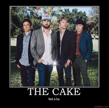 The Cake Is A Lie Meme - cake demotivational poster page