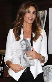 Barnes Los Angeles Cindy Crawfoed At Becoming Cindy Crawford Book Signing At Barnes