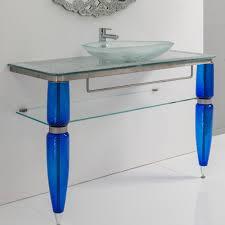 Glass Bathroom Vanity Tops by Tempered Glass Vanity Top Integrated Sink Wonderful Home Design