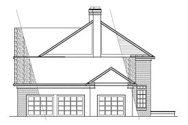 Georgian Architecture House Plans by Colonial House Plans Clairmont 10 041 Associated Designs