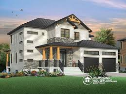 modern rustic homes house plan w3718 detail from drummondhouseplans com