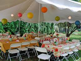 backyard decorating ideas for baby shower home outdoor decoration