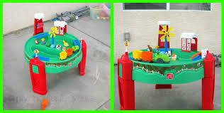 Water Table Toddler Step2 Sand U0026 Water Fun Farm Review Our Knight Life