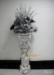 Large Glass Floor Vase Large Floor Vase Set Fashion Classical Decoration Set Flower Stair