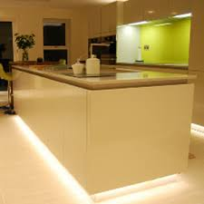 led light strips for kitchen kitchen plinth led strip lighting kit 6m yourwelcome