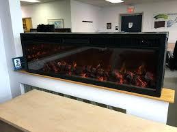 black electric fireplace emblazon wall length linear electric fireplace inch wide 10w heat black electric fireplaces