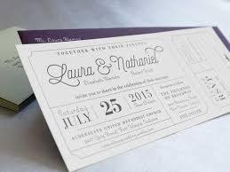 laura and nathaniel u0027s wedding invitation vim u0026 vigor