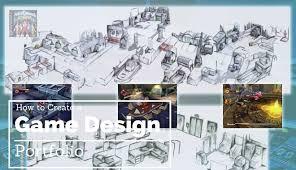 Art Portfolio Design How To Build A Game Designer Portfolio 2017 Guide