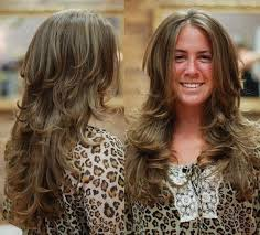 hairstyle gallary for layered ontop styles and feathered back on top photo gallery of long hairstyles feathered layered viewing 5 of