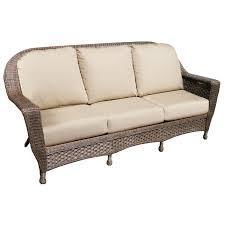 north cape wicker augusta sofa replacement cushion wicker com