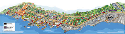Map Of Vancouver Canada North Shore Spirit Trail City Of North Vancouver