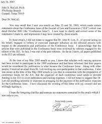 Case Manager Cover Letter John Lott U0027s Website Steve Levitt U0027s Correction Letter