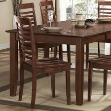 oxford creek side chairs in dark brown set of 2 brown home