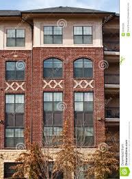 trendy ideas brick apartment building new royalty free stock