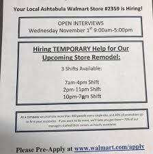 find out what is new at your ashtabula walmart supercenter 3551 n