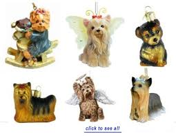 terrier ornament and white scarf with