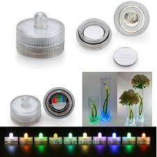 100pcs pack 11 colors decor small battery operated single led lights