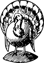 thanksgiving clipart black and white clip library